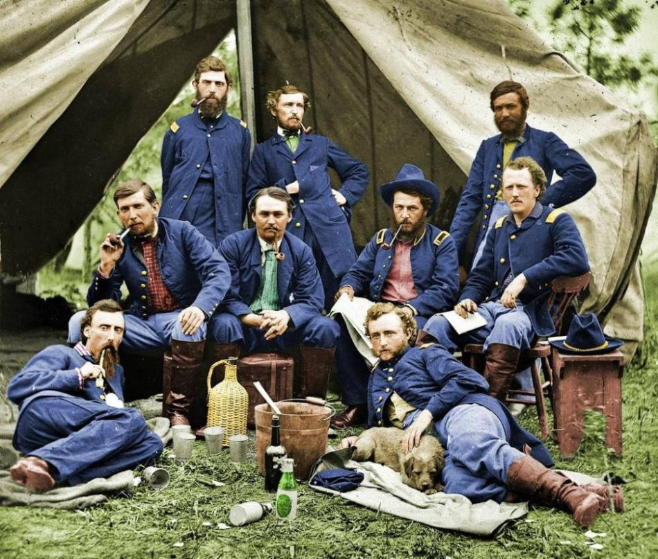 custer-union-troops-1862