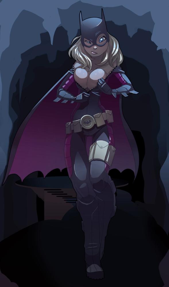 Batgirl___one_size_fits_all_by_Drunken_Novice